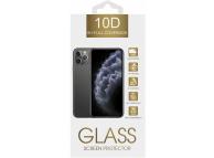 Folie Protectie Ecran OEM pentru Samsung Galaxy A21 / Samsung Galaxy A21s, Sticla securizata, Full Face, Full Glue, 10D, 9H, Neagra, Blister