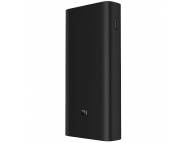 Baterie Externa Powerbank Xiaomi Redmi PB200LZM, 20000 mA, Standard Charge 5V - Quick Charge 2 - Quick Charge 3, 2 x USB, 18W, Neagra, Blister
