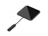 Incarcator Retea Wireless Tellur Ultra Slim, Certificat Qi, 10W, Negru, Blister TLL151231
