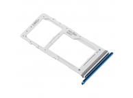 Suport SIM - Suport Card Samsung Galaxy Note 10 Lite N770, Albastru