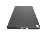 Husa Tableta TPU OEM Ultra Thin pentru Samsung Galaxy Tab E 9.6, Neagra, Bulk