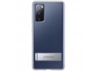 Husa Samsung Galaxy S20 FE G780, Standing Cover, Transparenta, Blister EF-JG780CTEGEU