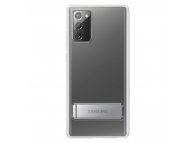 Husa Samsung Galaxy Note 20 N980, Standing Cover, Transparenta, Blister EF-JN980CTEGEU