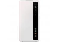 Husa Plastic Samsung Galaxy S20 FE G780, Clear View, Alba, Blister EF-ZG780CWEGEE