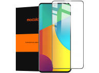 Folie Protectie Ecran Mocolo pentru Samsung Galaxy A51 5G A516, Sticla securizata, Full Face, Full Glue, 2.5D, 9H Neagra, Blister