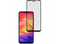 Folie Protectie Ecran OEM pentru Xiaomi Redmi 7, Sticla securizata, Full Face, Full Glue, 9D Neagra, Blister