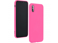 Husa TPU Forcell Silicone pentru Samsung Galaxy A21s, Ciclam, Blister