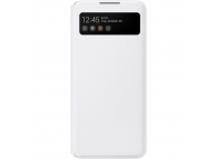 Husa Samsung Galaxy A42 5G, S View, Alba EF-EA426PWEGEE