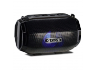 Boxa Portabila Bluetooth Kisonli LED-904, USB, SD, FM, Neagra, Blister