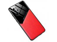 Husa Piele OEM All-inclusive pentru Huawei P30 Pro, Rosie, Bulk