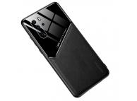 Husa Piele OEM All-inclusive pentru Huawei P30 Pro, Neagra, Bulk
