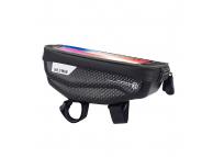 Geanta Impermeabila WILDMAN E1, Pentru Bicicleta, Rezistenta la apa, + accesorii, Neagra, Blister