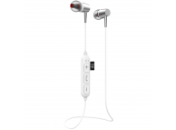 Casti Bluetooth Yookie K334, Albe, Blister