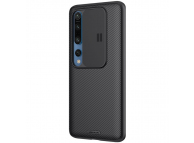 Husa Plastic - TPU Nillkin CamShield pentru Xiaomi Mi 10 5G / Xiaomi Mi 10 Pro 5G, Cu protectie camera, Neagra, Blister