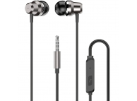 Handsfree Casti In-Ear Dudao X10 Pro, Cu microfon, 3.5 mm, Argintiu