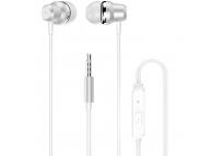 Handsfree Casti In-Ear Dudao X10 Pro, Cu microfon, 3.5 mm, Alb