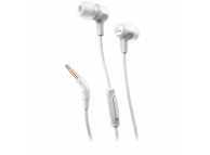 Handsfree Casti In-Ear JBL E15, Cu microfon, 3.5 mm, Alb