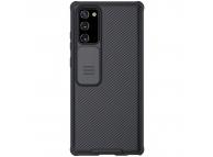 Husa Plastic - TPU Nillkin CamShield pentru Samsung Galaxy Note 20 N980, Cu protectie camera, Neagra, Blister