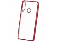 Husa TPU Forcell NEW ELECTRO MATT pentru Samsung Galaxy A21s, Rosie, Bulk