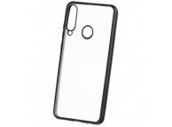 Husa TPU Forcell NEW ELECTRO MATT pentru Samsung Galaxy A21s, Neagra, Bulk