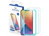 Folie Protectie Ecran ESR Shield pentru Apple iPhone 12 / Apple iPhone 12 Pro, Sticla securizata, set 2 bucati