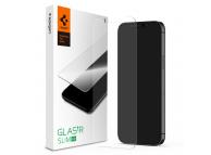 Folie Protectie Ecran Spigen Slim pentru Apple iPhone 12 Pro / Apple iPhone 12, Sticla securizata AGL01511