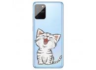 Husa TPU OEM Laughing Cat pentru Samsung Galaxy S10 Lite G770, Multicolor, Bulk