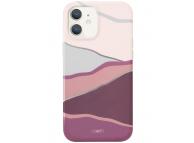 Husa TPU UNIQ COEHL CIEL pentru Apple iPhone 12 mini, Roz