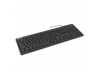 Tastatura USB Tellur Basic, cu fir, Neagra TLL491031
