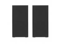 Boxa Cu Cablu Tellur Basic 2.0, 6W, Lemn, USB (Pentru PC), Stereo, Neagra, Blister TLL491041