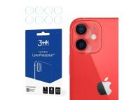Folie Protectie Camera spate 3MK pentru Apple iPhone 12 mini, Set 4 buc, Plastic