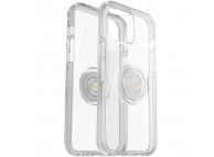 Husa Plastic - TPU OtterBox Symmetry POP pentru Apple iPhone 12 mini, Transparenta