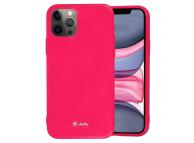 Husa TPU Goospery Jelly pentru Apple iPhone 12 mini, Ciclam