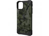 Husa Plastic Urban Armor Gear Pathfinder pentru Apple iPhone 11 Pro Max, Verde(Forest Camo), Blister