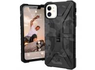 Husa Plastic Urban Armor Gear Pathfinder pentru Apple iPhone 11, Neagra (Midnight Camo), Blister