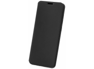 Husa Piele Vennus Lite pentru Xiaomi Redmi 9A, Neagra, Blister