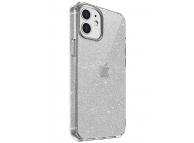 Husa TPU UNIQ LifePro Tinsel pentru Apple iPhone 12 mini, Glitter, Transparenta