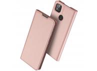 Husa Piele DUX DUCIS Skin Pro pentru Xiaomi Redmi 9C, Roz, Blister