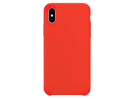Husa TPU OEM Pure Silicone pentru Apple iPhone X / Apple iPhone XS, Rosie, Bulk