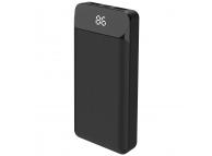 Baterie Externa Powerbank XO Design PB91, 20000 mA, Standard Charge (5V), 2 x USB, Neagra, Blister
