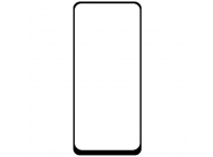 Folie Protectie Ecran OEM pentru Oppo A72, Sticla securizata, Full Face, Full Glue, 6D, Neagra, Blister