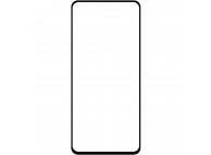 Folie Protectie Ecran OEM pentru Samsung Galaxy A51 5G A516, Sticla securizata, Full Face, Full Glue, 6D, Neagra, Blister