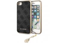 Husa TPU Guess Charms 4G pentru Apple iPhone 7 / Apple iPhone 8 / Apple iPhone SE (2020), Gri GUHCI8GF4GGR