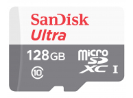 Card Memorie MicroSDXC SanDisk ULTRA ANDROID, 100MB/s, 128Gb, Clasa 10 / UHS-1 U1, Blister SDSQUNR-128G-GN6MN