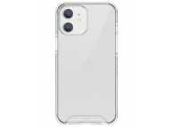 Husa Plastic - TPU UNIQ Combat Antisoc pentru Apple iPhone 12 mini, Transparenta