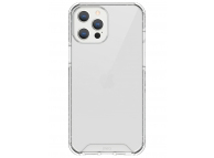Husa Plastic - TPU UNIQ Combat Antisoc pentru Apple iPhone 12 Pro Max, Transparenta, Blister
