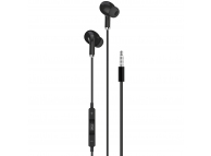 Handsfree Casti In-Ear XO Design EP22, Cu microfon, 3.5 mm, Negru, Blister