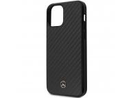 Husa Fibra Carbon MERCEDES Dynamic pentru Apple iPhone 12 mini, Neagra MEHCP12SRCABK