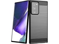 Husa TPU OEM Carbon pentru Samsung Galaxy Note 20 Ultra N985 / Samsung Galaxy Note 20 Ultra 5G N986, Neagra