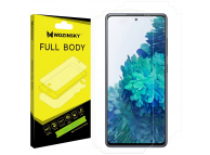 Folie Protectie Fata si Spate WZK pentru Samsung Galaxy S20 FE 5G, Plastic, Full Cover, 0.15mm, Blister